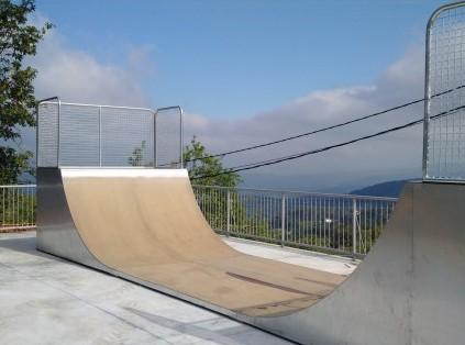 Adecuación de Plaza y Montaje de  Skatepark (Quintela de Leirado)
